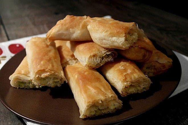 Πρασοτυρόπιτα σε μπαστούνια της κυρίας Αθηνάς ⋆ Cook Eat Up!