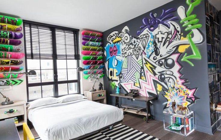 Graffiti designs for bedrooms - https://bedroom-design-2017.info/ideas/graffiti-designs-for-bedrooms.html. #bedroomdesign2017 #bedroom