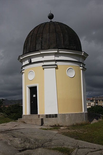 The observatory of Ursa Astronomical Association in Kaivopuisto, Helsinki. Photo…