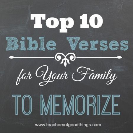 *I have affiliate links within this post. To learn more, please read my disclosure. My readers love my post Top 5 Bible Verses for Toddlers & Preschoolers to Memorize, so I thought you may like to see my list of top 10 Bible verses for families to memorize. Here is my top 10 Bible verses […]