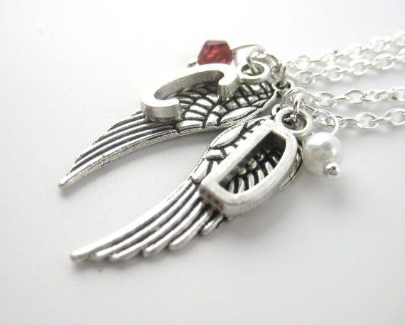best friend initial necklace custom best friend necklace