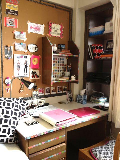 Charming {on The Blog: Dorm Style!} #dorm #dormroom #boston # Part 23