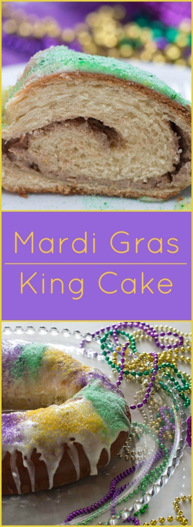 ... king cake. if. the topping is a quick pecan praline filling and the