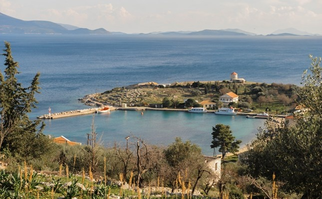 Island of Kastos in the Ionian,Greece