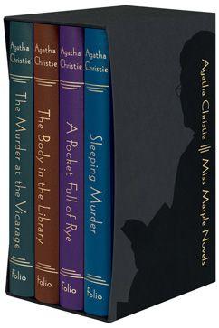 SO on my wishlist, the Folio Society edition of Agatha Christie's Miss Marple novels. Illustrations by Andrew Davidson.