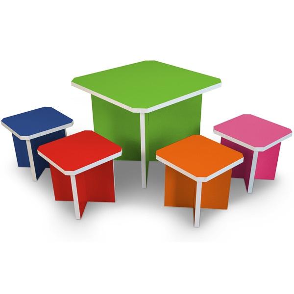 Way Basics   Charlotte Table Set   Modern   Kids Tables