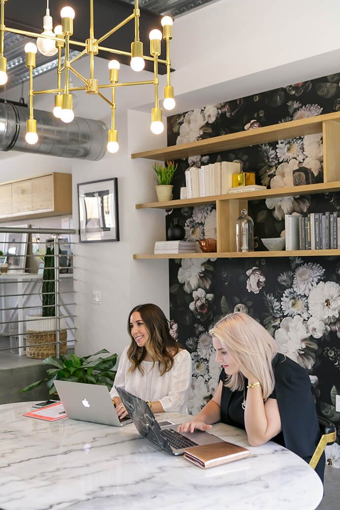 Touring The Bold Office Of Create & Cultivate | Glitter Guide                                                                                                                                                                                 More