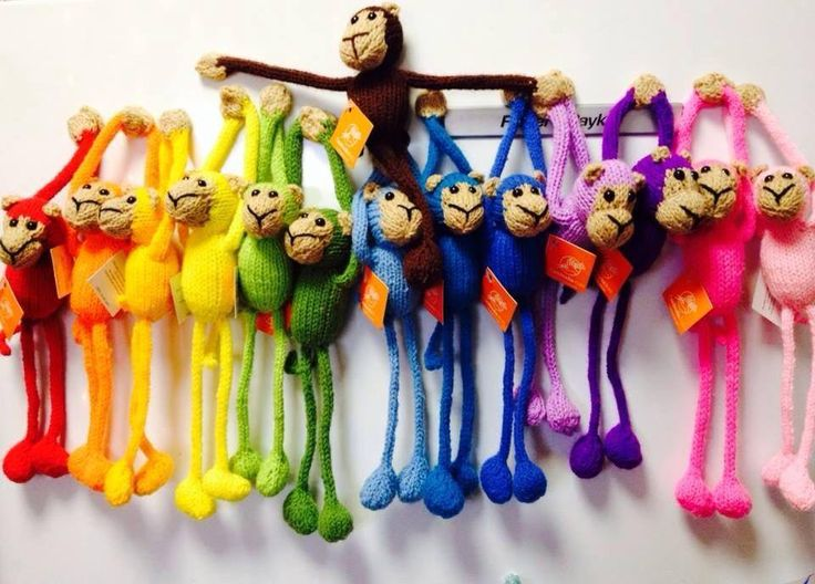 Funky little monkeys that are happily made in Cambodia. Available to purchase this Sunday 7 June at Belgrave South Community Market, Gilmore Court, Belgrave South