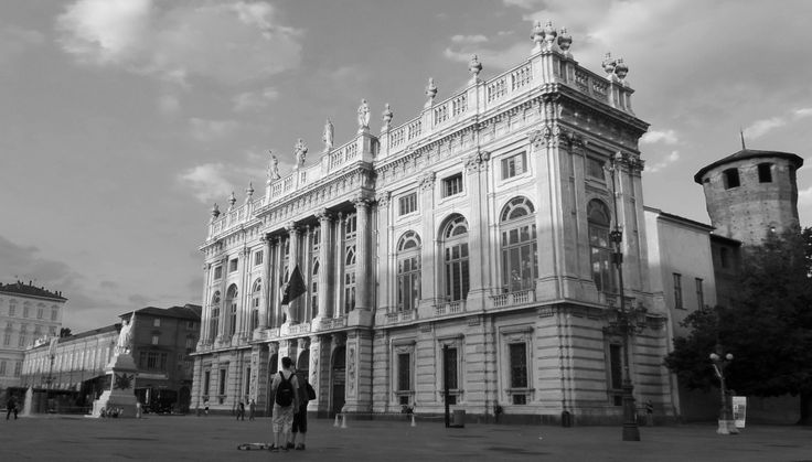 Palazzo Madama in Turin (Italy)