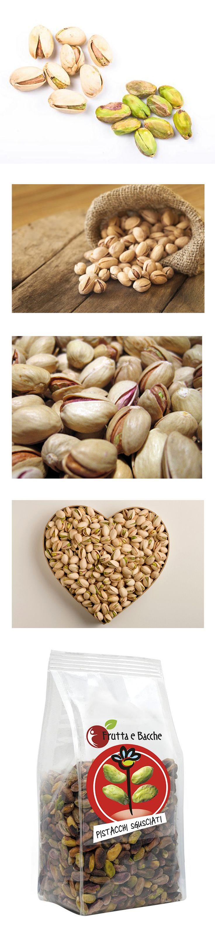 Il pistacchio costituisce uno spuntino molto nutriente e contiene otto importanti sostanze: tiamina, vitamina B6, rame, manganese, potassio, fibre, fosforo e magnesio, oltre a discrete quantità di antiossidanti polifenolici. Sebbene la funzione degli antiossidanti non sia ancora del tutto nota, le ricerche finora condotte sottolineano i vantaggi di una dieta sana con alimenti contenenti antiossidanti. €19,40 http://www.fruttaebacche.it/shop/frutta-secca/pistacchi-sgusciati/