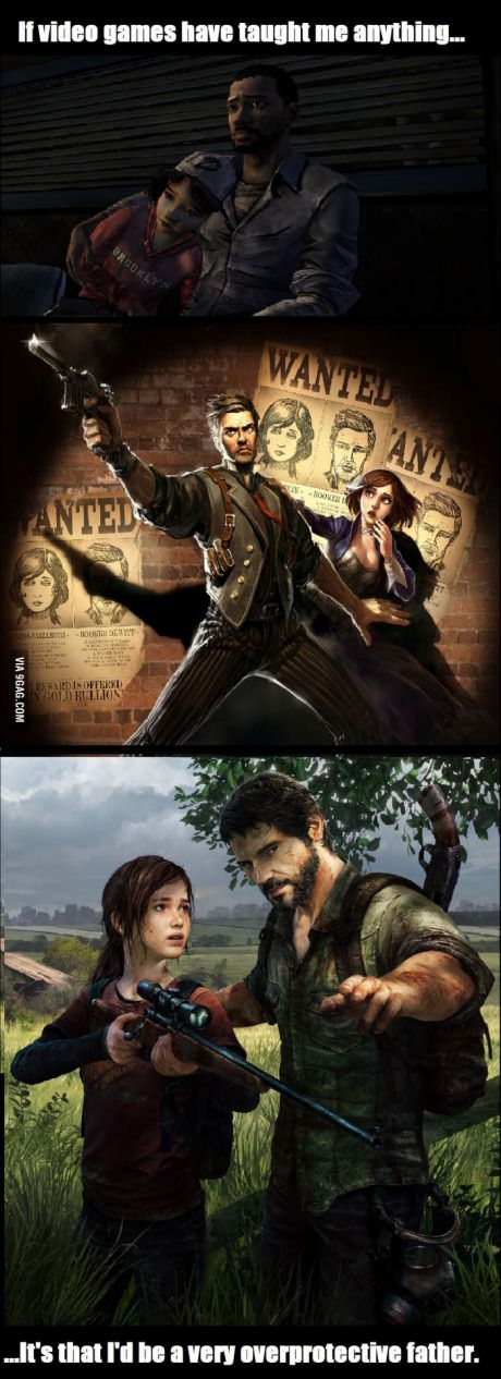 If video games have taught me anything... These are my three favorite games