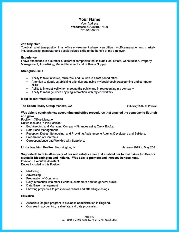 cool Writing a Great Assistant Property Manager Resume, Check more at http://snefci.org/writing-great-assistant-property-manager-resume