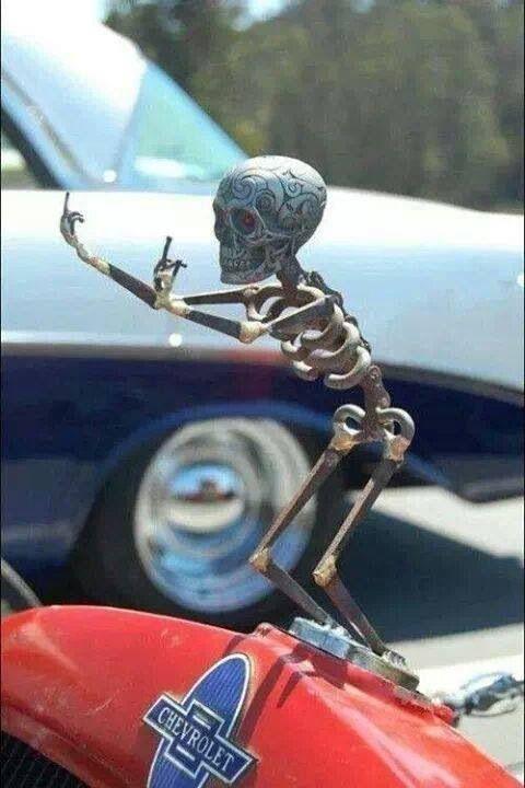 Fuck off!! :) skeletal shits