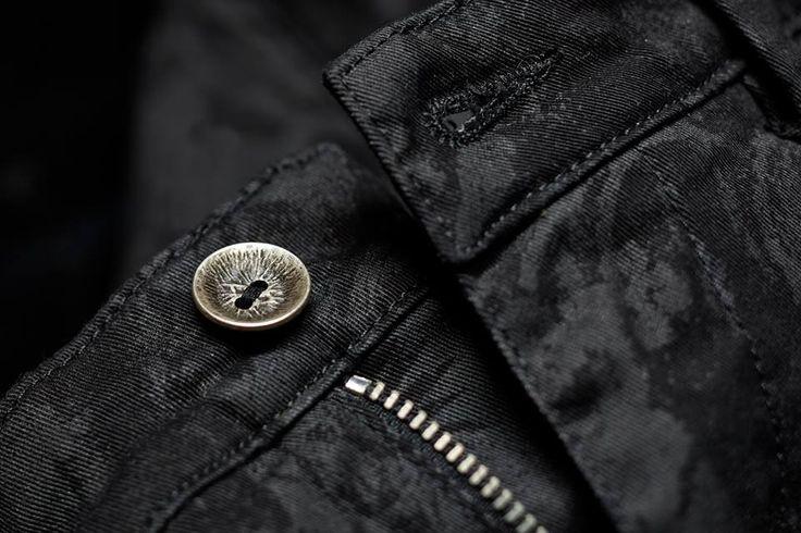 Total #black, dettaglio #40weft #fashion #details #moda www.40weft.com