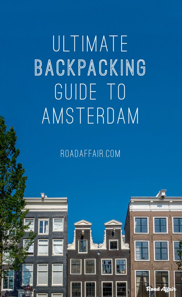 A comprehensive travel guide to backpacking Amsterdam on a budget with tips on how to save money, cheap places to eat, and top things to do in Amsterdam.