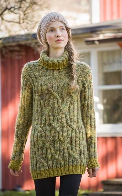 Cabled Sweater - Novita Autumn 2014