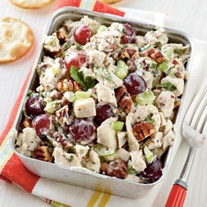 Poppy Seed Chicken Salad-dinner tomorrow night