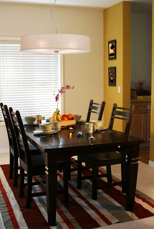 żyrandol SKALA 8 kolorów - oświetlenie stołu w jadalni