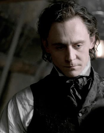 """""""I'm not playing a Hannibal Lecter type, but he is a complicated soul."""" —Tom Hiddleston [on Sir Thomas Sharpe]. Crimson Peak"""