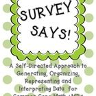 Students will love asking each other fun survey questions related to interesting topics, school activities, holidays, animals and much more with th...