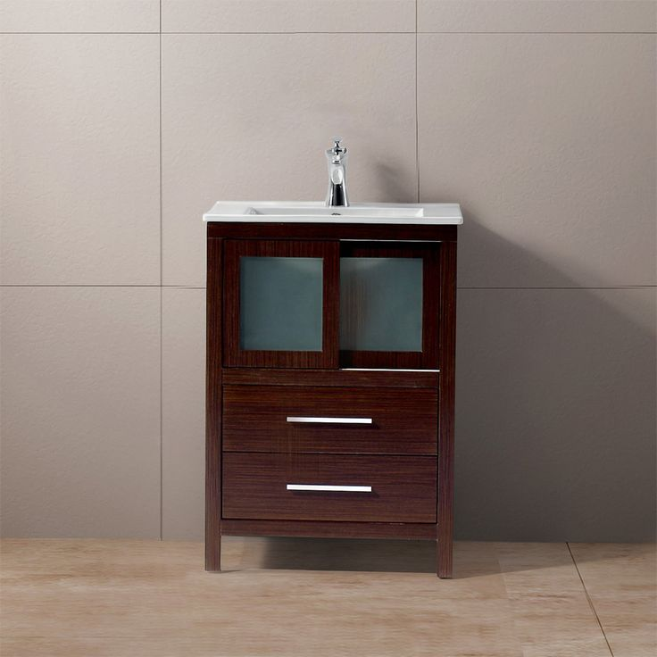 Best Photo Gallery Websites Shop for the Vigo Wenge Alessandro Single Bathroom Vanity In Wenge and save