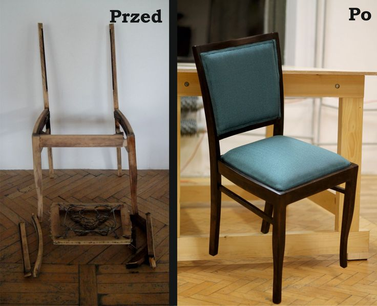 Krzesła w stanie trupim powróciły do życia!