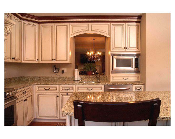 This Is A Traditional Style Custom Kitchen From Clarksville, Maryland.  Everything Was Relocated · Off White ...