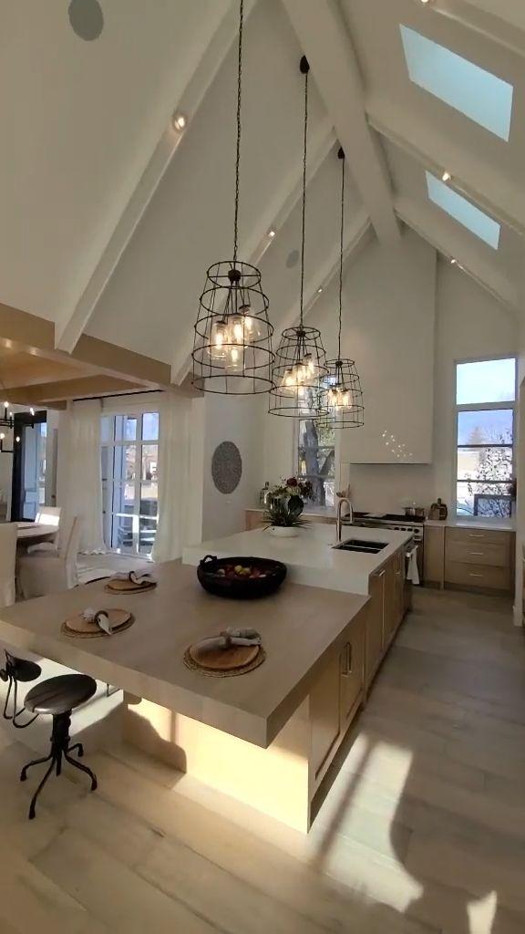 Kitchen Room Design, Modern Kitchen Design, Home Decor Kitchen, Interior Design Kitchen, Buy Kitchen, Interior Design Videos, Kitchen Cabinets, Dream House Interior, Dream Home Design