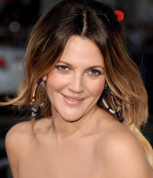 Drew Barrymore Shoulder Length Bob Hairstyles 2013
