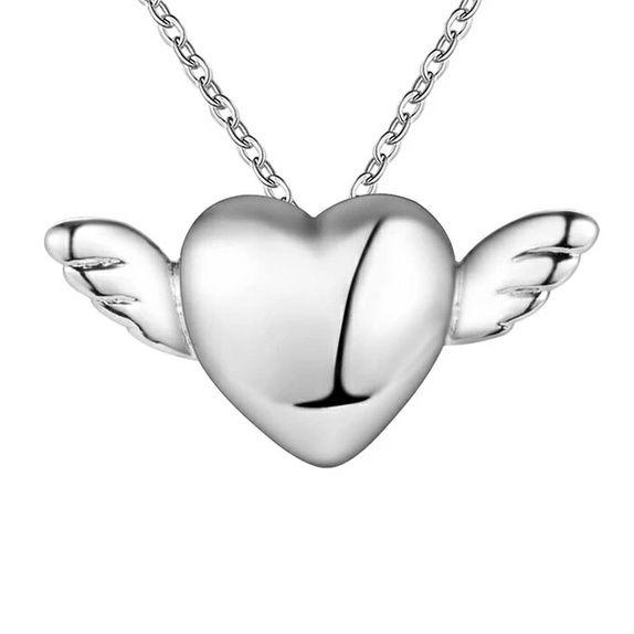 Hjertesmykke sølv