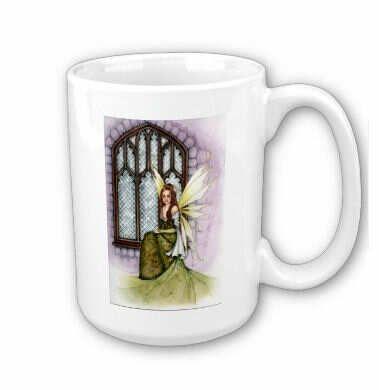Spring Fairy Mug - $18.00 www.newagecave.com