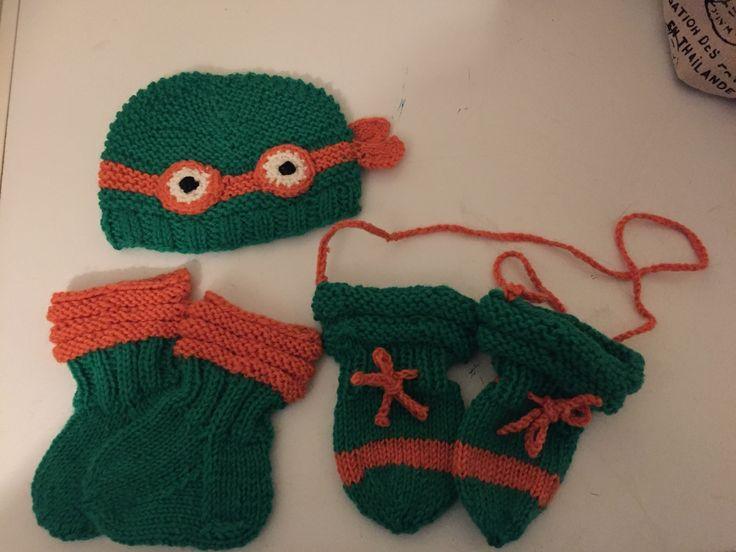#turtles #mittens #socks #knitcap #baby