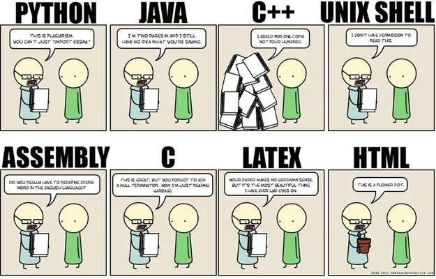 If programming languages were exam papers…   27 Things Only Developers Will Find Funny