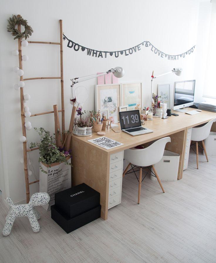 Las 25 mejores ideas sobre oficina en casa en pinterest - De casa decoracion ...