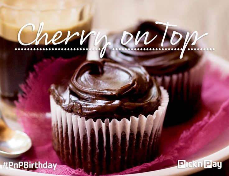 Rumour has it these are the best cupcakes EVER! Don't take our word for it though, try it! #PnPBirthday