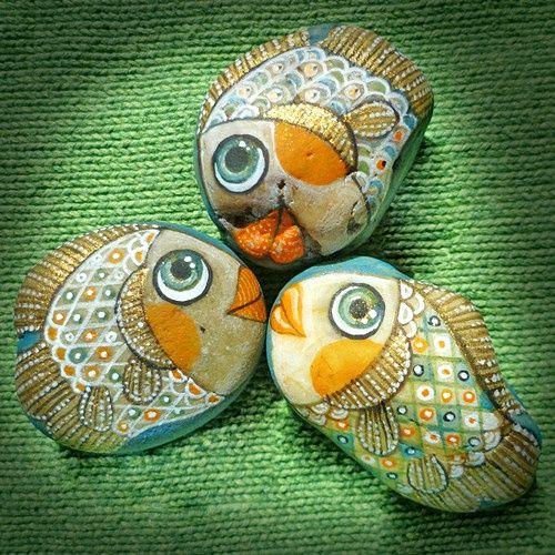 Entre Barrancos (MANUALIDADES): Piedras pintadas (2)