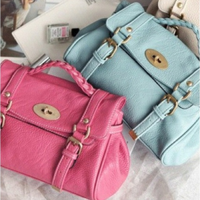 :]Fashion Glamour, Mulberry Bags, Pastel Cerveza Tennis, Summertime Sadness, Pastel Colours, Pretty Pastel, Leather Bags, Hands Bags, Style Tips