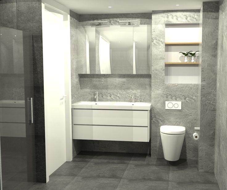 Badkamer 3D impressie - behoud de vrijheid van leverancier door een 3D ontwerp te laten maken door een onafhankelijke partij.