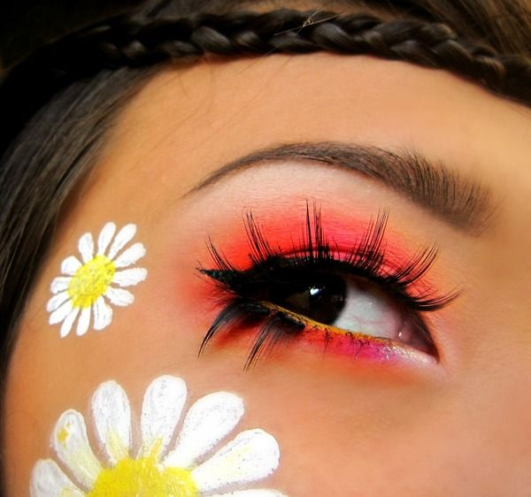 Summer Daisies  Thinking I need to do this for Kristy's 70's party!