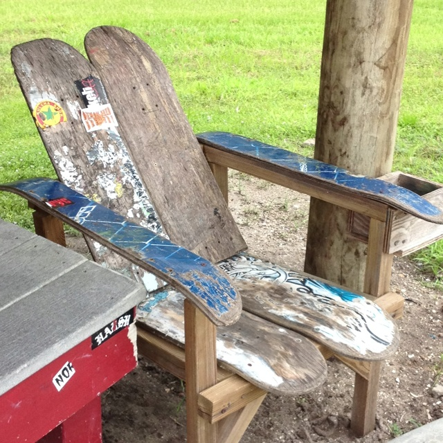 1000 images about skateboard design on pinterest decks for Skateboard chair plans