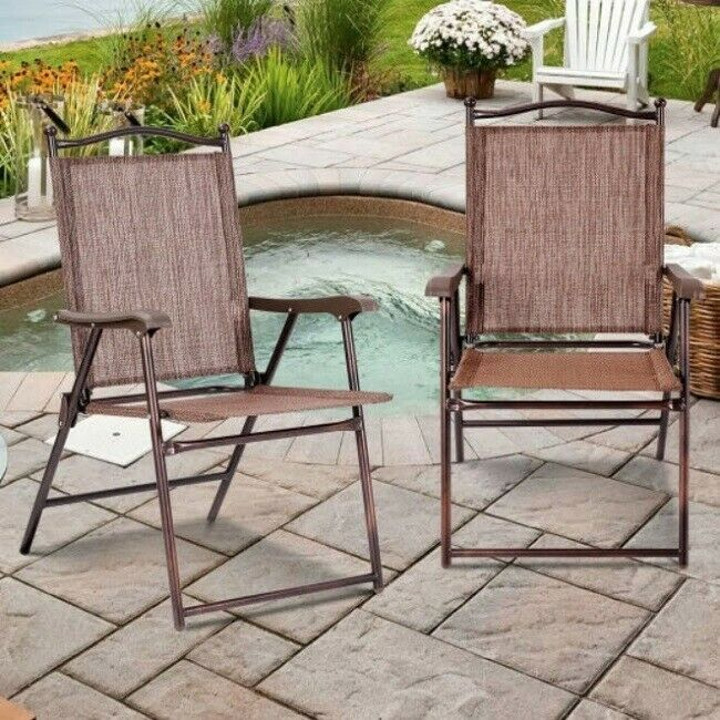 Pleasing Folding Beach Chairs Outdoor Lawn Patio Furniture Camping Ncnpc Chair Design For Home Ncnpcorg