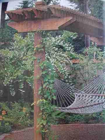 Backyard Ideas Pergola Hammock on deck hammock ideas, bedroom hammock ideas, fire pit hammock ideas, garden hammock ideas,