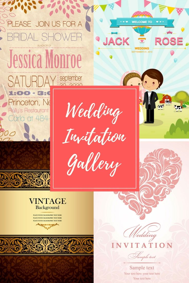 Fantastic Modern Wedding Invitation Wording Ensign - Invitations and ...