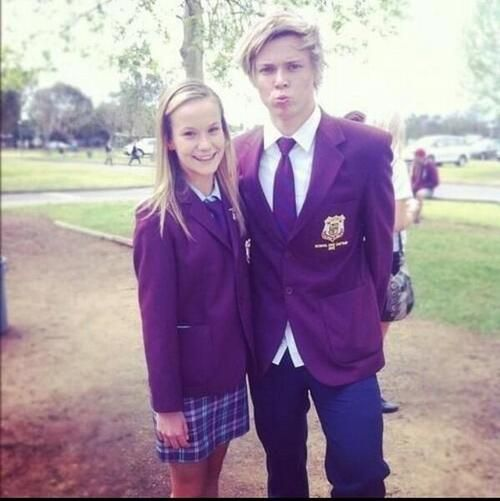 Fetus Ashton Irwin in his school uniform... *curls up in a ball and dies from drowning in my own tears*