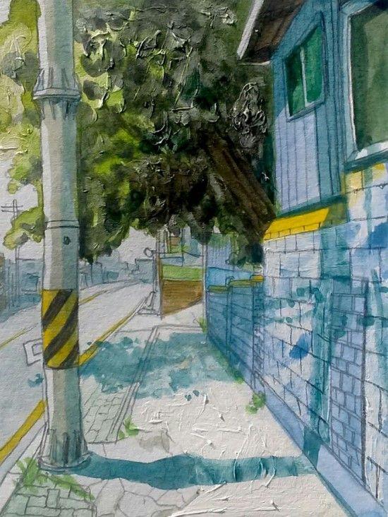 watercolor illust