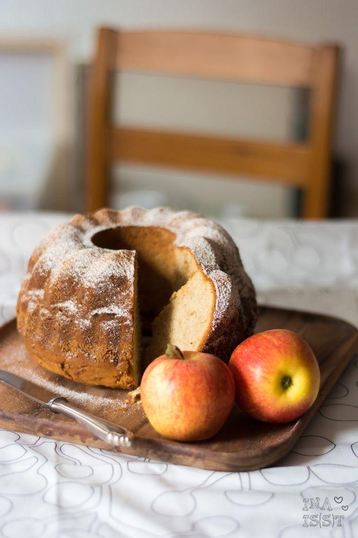 Ina Is(s)t: Einfacher Apfel-Gugelhupf mit Vanille und Zimt /// Easypeasy apple bundt cake with vanilla and cinnamon