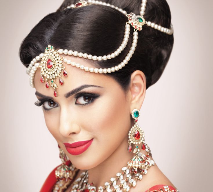 Remarkable 1000 Images About Indian Bridal Hairstyles On Pinterest Wedding Hairstyle Inspiration Daily Dogsangcom