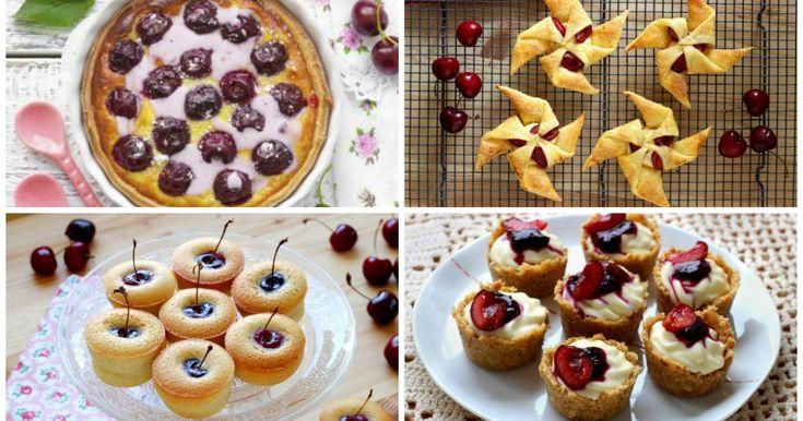 15 dolci che vi faranno innamorare delle ciliegie