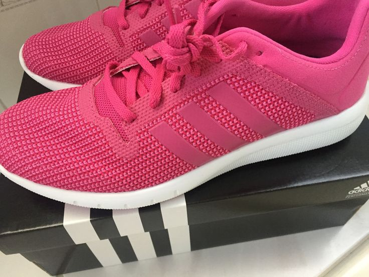 Adidas CC Fresh 2 W Climacool Pink White Womens Sneakers Running Shoes #ADIDAS #Trainers