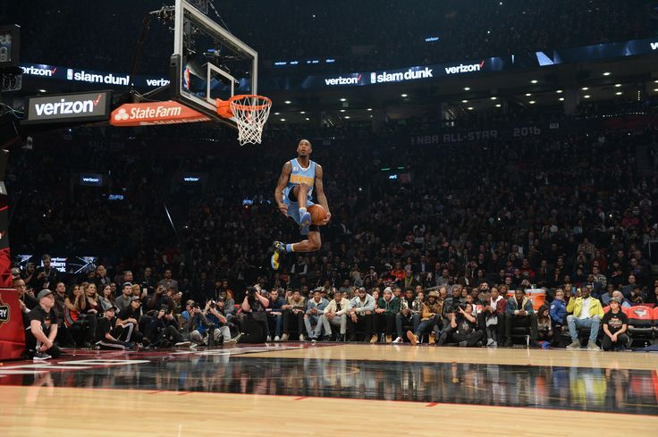 Not to be overlooked.. Will Barton threw down a nasty dunk representing the @denvernuggets in the #VerizonDunk contest at #NBAAllStarTO (Click to watch)